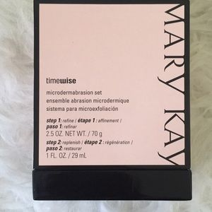 Timewise microdermabrasion set, Mary Kay